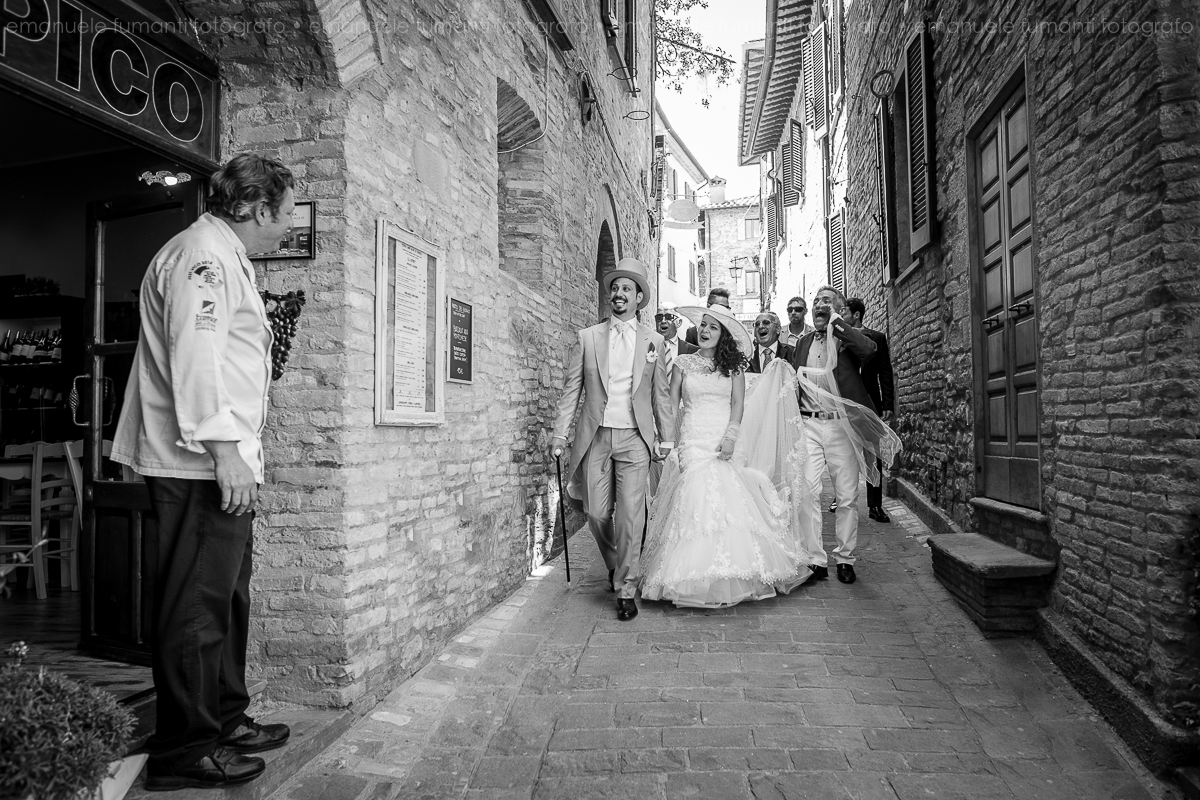 Wedding in Montone